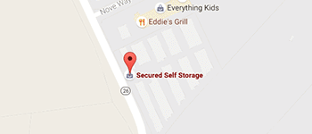 Secured Self Storage Map and Directions